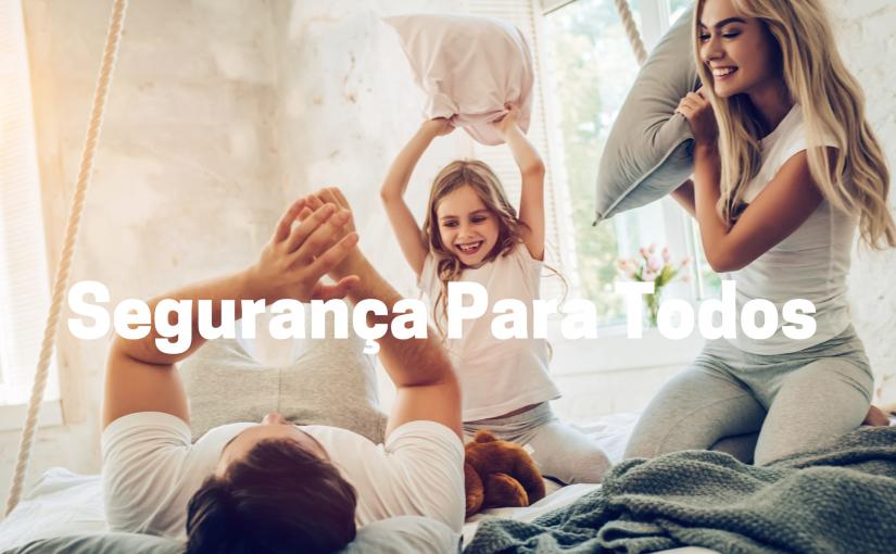 segurança para maes, pais, bebes, apartamentos casas